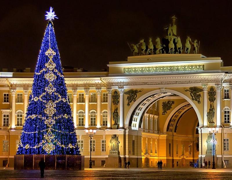Погода в Санкт-Петербурге на Новый Год 2018 | Новогодний